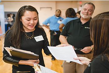 How to Talk to Employers & Professionals: Prepare for the Career Fairs