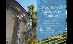 Grad School Application Timeline